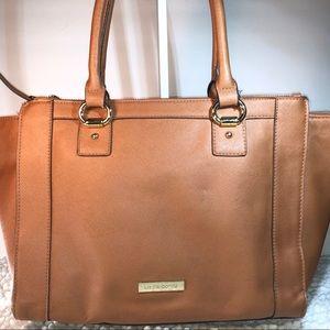 Liz Claiborne ~ Tan-Camel ~ XL Shoulder Bag